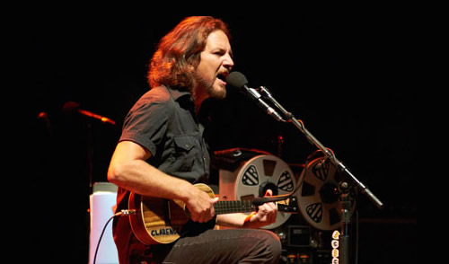 Eddie Vedder Solo Show